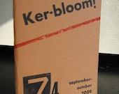 Kerbloom 74 letterpress zine about Pittsburgh