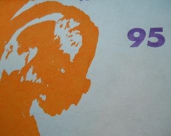 Ker-bloom letterpress zine number 95