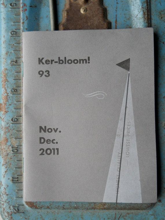 letterpress zine about sailing