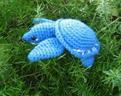 Silas the Fly River Turtle ( Pig-nosed turtle ) Amigurumi