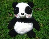 PDF - Amigurumi Crochet Pattern - Panda