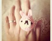 Amigurumi Bunny Ring