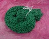 Kathy Knit Dishcloth Green