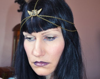 Horus Chain Headpiece  Head Chain Headdress