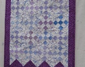 Lavender & Purple Doll Quilt