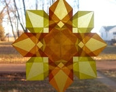 Sunshine Daydreams Waldorf Window Star