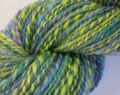 handspun and hand dyed merino wool