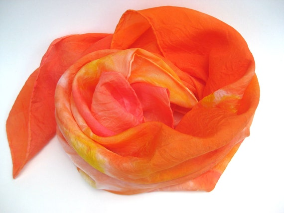 Hand Dyed Play Silk - Multicolor - Sunshine