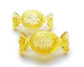 YELLOW Candy Barrettes