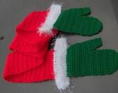 Santa hug scarf PDF crochet pattern