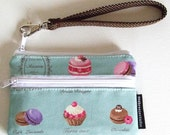 iPhone 4s/ Travel case  - macaroon in mint
