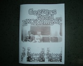 Geezers Need Excitement zine by April and Chip