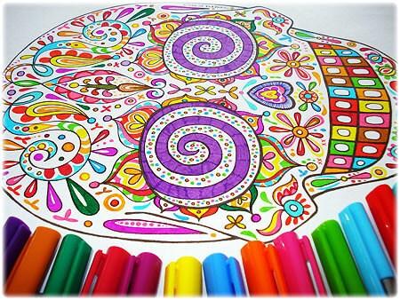 sugar skull coloring pages thaneeya - photo#29