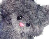 Gray Wolfling -- Cuddly Plush Monster