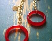 Simple Circle Earrings