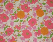 Vintage Fabric - 45 inches by 44 inches