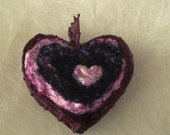 Ceramic HeartHeartHeart Pendant Free Shipping