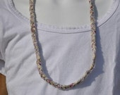 "Natural Braided 12"" Necklace"