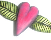 pendant or brooch - If Hearts Grew on Trees