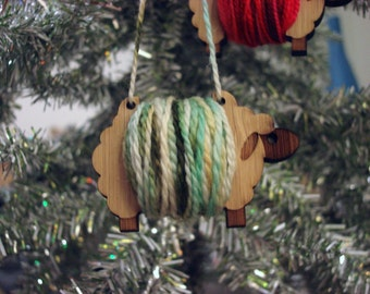 Sheep ornament - make your own