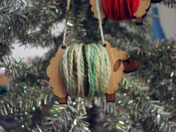 Sheep ornament - make your own - set of 3