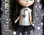 Blythe silk Chandeleir dress rhinestones