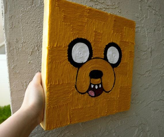 RESERVED for brianlevine3 - Jake yarn art