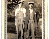 The Trade Off 1930s Vintage Original Old Photo. FREE U.S. Shipping.