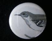 pretty birdy one inch button