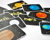 Printable Cards - The Solar System Set - wildolive