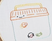 PDF Embroidery Pattern - Teeny Tiny Creepy Crawlies