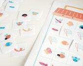 Teeny Tiny Creepy Crawlies - Printable Bug Bingo Game
