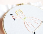 Nutcracker Sweets - Christmas Ballet PDF Hand Embroidery Pattern