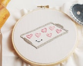 Baked with Love - Valentine's Treats PDF Hand Embroidery Pattern