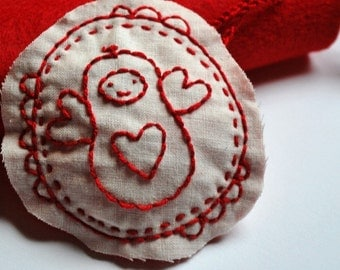 Holiday Jordnots - Seasonal Peanut Shaped Character Hand Embroidery Pattern