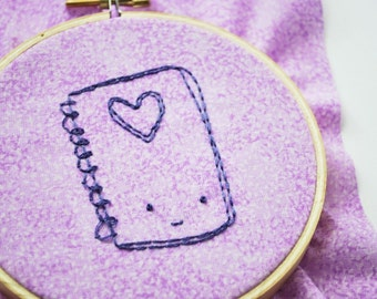 Doodles and Dreams - Cute and Girly Embroidery Pattern