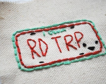 Road Trippers - Travel Embroidery Pattern