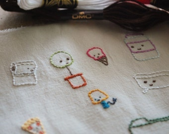 Teeny Tinies - Small Object Hand Embroidery Pattern