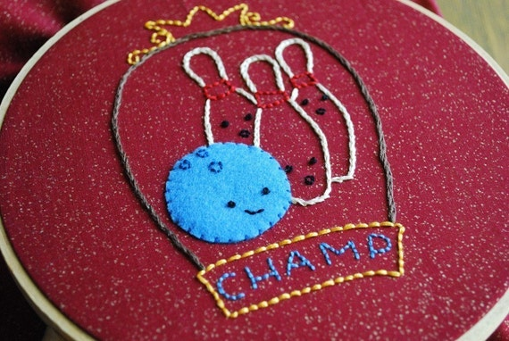 Game Night - PDF Hand Embroidery Pattern