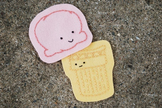 Ice Cream Socializers - Design Your Own Dessert Embroidery Pattern