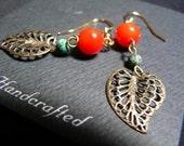Red Scarlet Earring