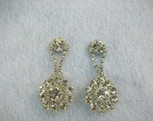 Blingalicious  - Brilliant Rhinestone Drop Earrings