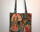 Fridas Garden Tote- For annaquill