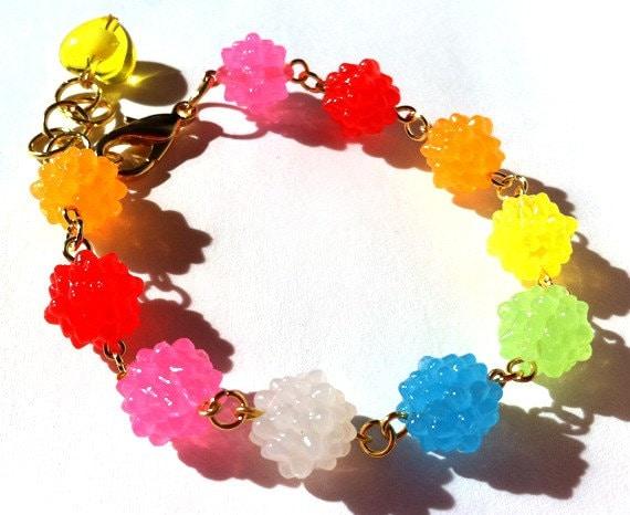 Rainbow Konpeito Candy bracelet