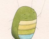 Bug and Balloon digital art print