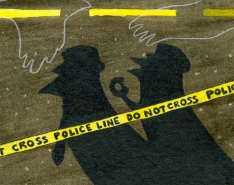 Murder of Crows fine art print