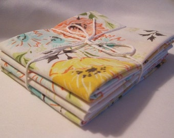 Reclaimed Vintage Bed Linens Fat Quarter Bundle