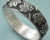 Maple Leaf Ring