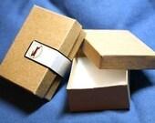 100 Lg Kraft cotton filled boxes