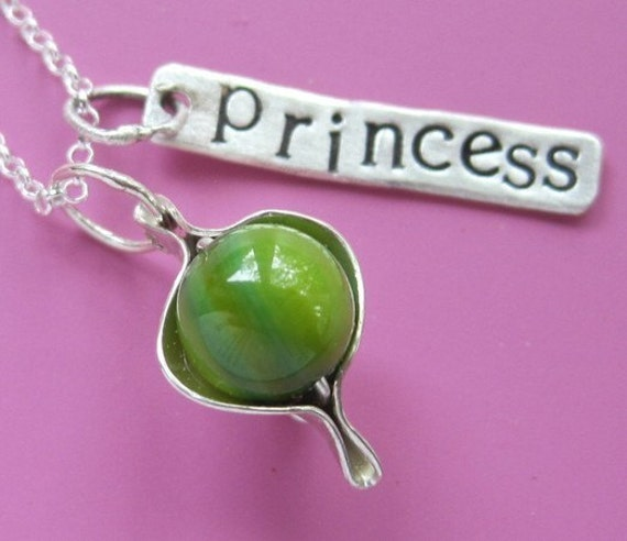 Princess And The Pea Necklace